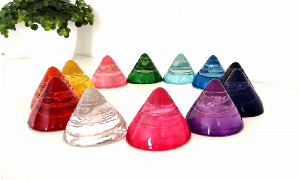 Balans cones set van 12 kleuren bij burnoutsupport.nl