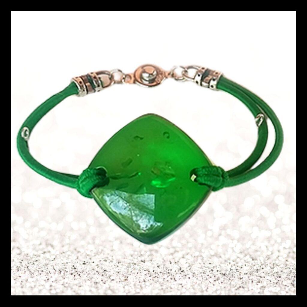 Balanssteen armband groen bestellen bijmetra.nl